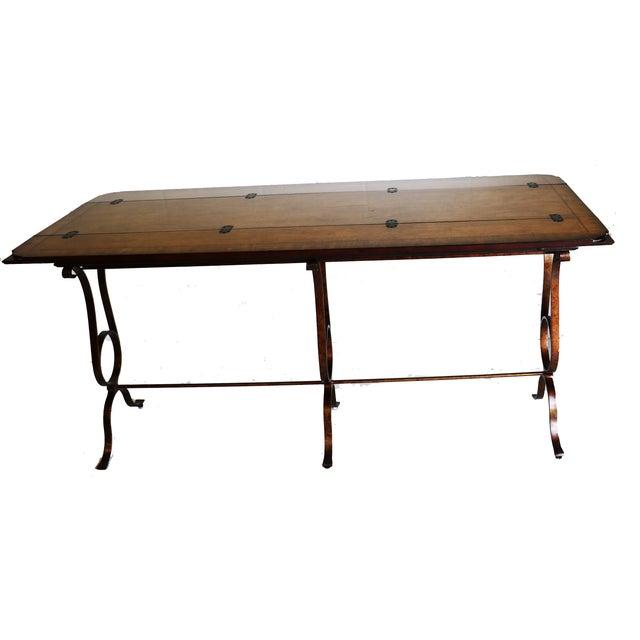 Image of Stanley Villette Flip Top Console Table