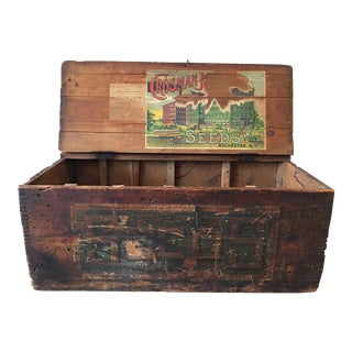 1922 Crosman Bros. Seed Box