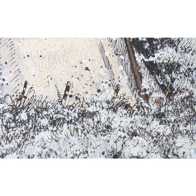 Kevin Red Star - First Snow Serigraph - Image 2 of 2