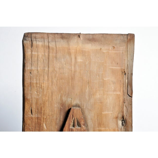 Carved Wooden Door Panel on Stands - Image 4 of 11