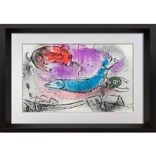 1957 Marc Chagall Original Lithograph