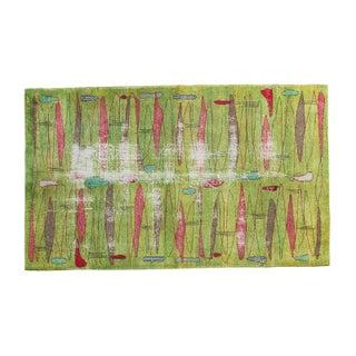 """Vintage Deco Oushak Carpet - 5' X 8'5"""""""