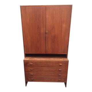 Hans Wegner Two Piece Cabinet