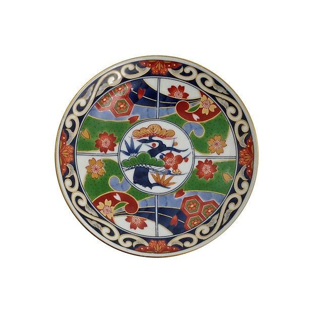 Image of Imari Tea Cups & Saucers - S/5