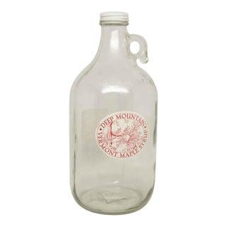 Vermont Half Gallon Maple Syrup Bottle