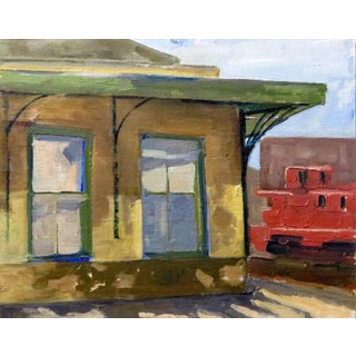 Mineola Depot Station Painting