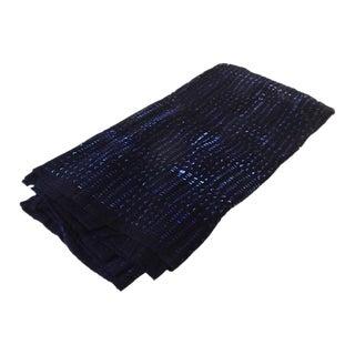 Malian Indigo Mud Cloth Textile