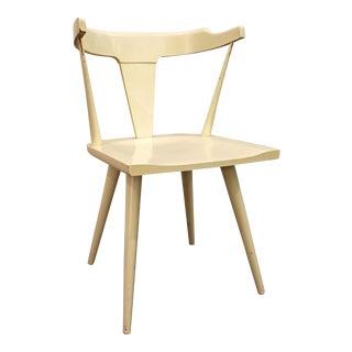Mid-Century Danish Modern White Paul McCobb Planner Group Desk Side Chair