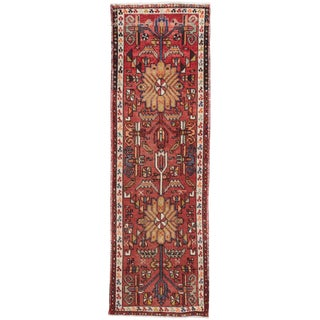 "Apadana Vintage Persian Heriz Runner - 2'3"" x 7'1"""
