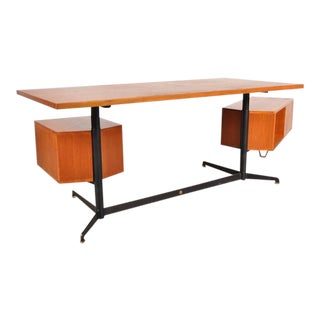 T95 Desk by Osvaldo Borsani for Tecno, Italy, 1952