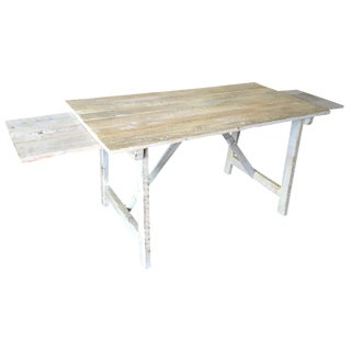 Rustic Primitive Dining Table