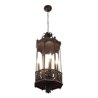Bronze 5-Light Pendant Lantern