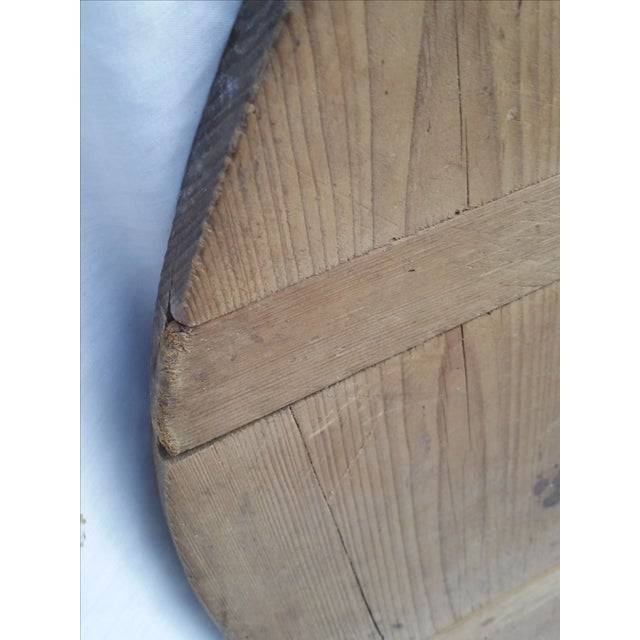 Antique German Pine Baker's Tray - Image 4 of 4