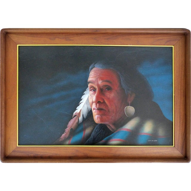 Southwestern Portrait by Jeff St. John - Image 1 of 9