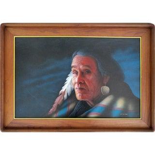 Southwestern Portrait by Jeff St. John