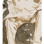Image of B.A. Altman Figural Watercolor Painting