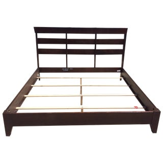 Ethan Allen Horizon Collection King Bed Frame