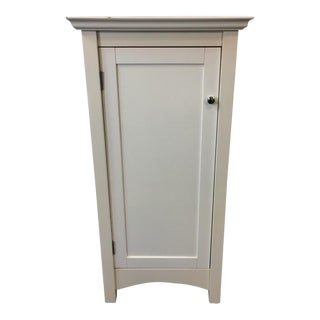 Pottery Barn Contemporary White Cabinet
