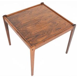 Danish Modern Rosewood Side Table