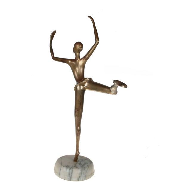 Prima Ballerina on Round Marble Base - Image 8 of 8