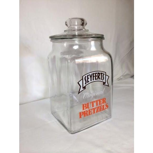 Vintage Seyfert's Original Butter Pretzel Jar - Image 3 of 3