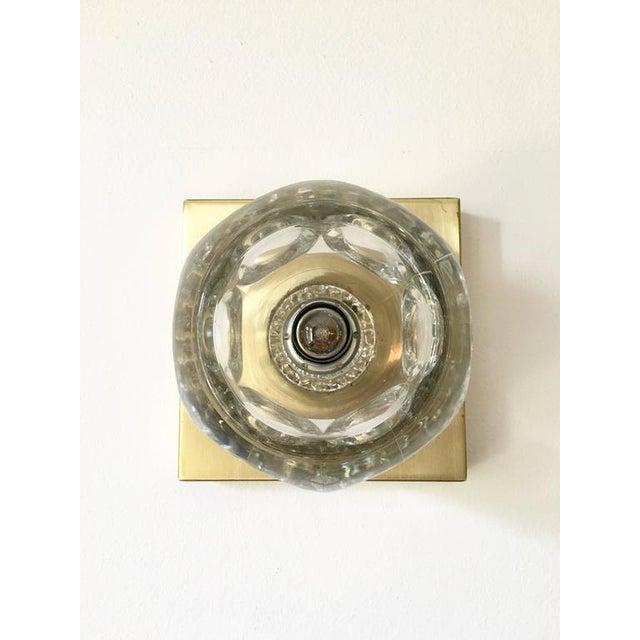 Sciolari Glass & Brass Sconce - Image 10 of 10