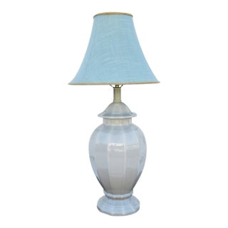 Light Grey Table Lamp