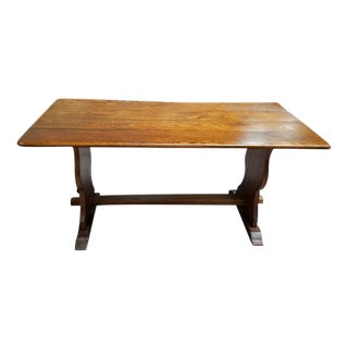 English Oak Refectory Table c.1920