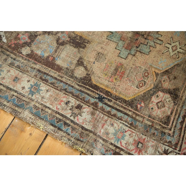 """Distressed Antique Caucasian Rug - 3'6"""" X 5'11"""" - Image 5 of 10"""