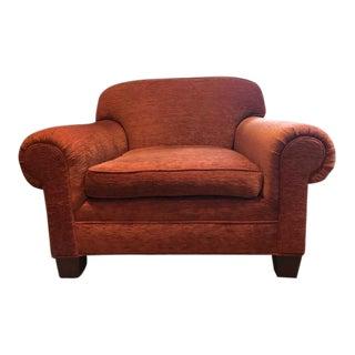 Ralph Lauren Rust Colored Club Chair