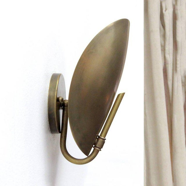 Brass Shell Wall Lights : Brass Shell Wall Lights Chairish
