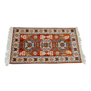 Tribal Meshkin-Style Carpet - 2′6″ × 4′3″