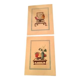 1957 Mid-Century Still Life Penn Prints - A Pair