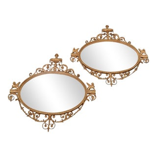 Friedman Brothers Gilt Carved Mirrors - A Pair