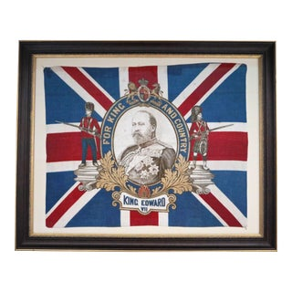 1902 King Edward VII Coronation Flag