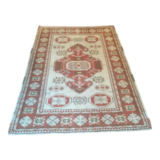 Vintage Turkish Rug - 4′6″ × 6′5″