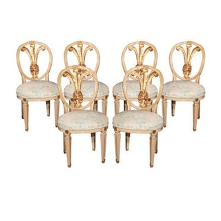 Dining Chairs Stamped Jansen - Set of 6
