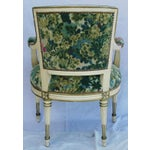 Image of Scalamandre Marly Velvet Tapestry Fabric Armchair