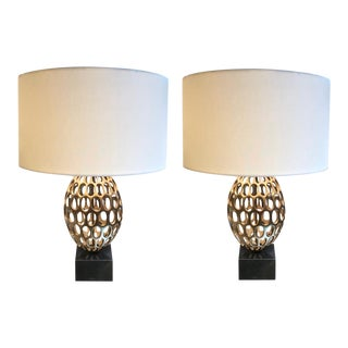 Pair of Mid Century Inspired Lamps