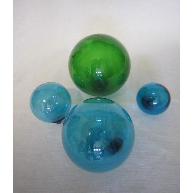 Vintage Glass Fishing Floats - Set of 4 - Image 3 of 4