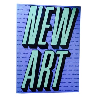 New Art, 1984, First Edition Book