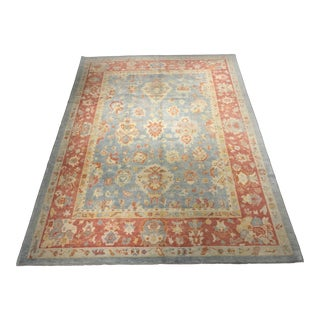"Bellwether Vintage Inspired Turkish Oushak Rug- 9'3"" x 12'"