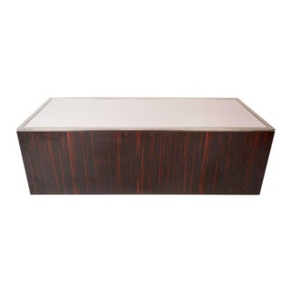 Unusual Mid-Century Modern Rosewood and Laminate Coffee Table