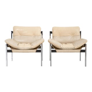 Jerry Johnson & Byron Botker Lounge Chairs - A Pair