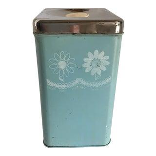 Vintage Mid-Century Kitchen Flour Container