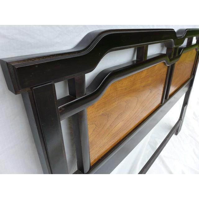 Thomasville Asian Inspired Queen Size Headboard - Image 3 of 7