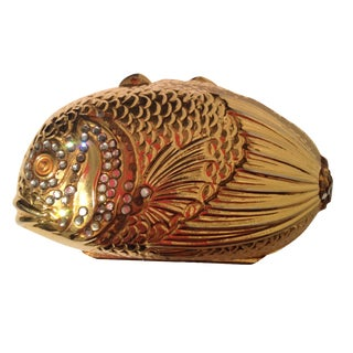 Judith Leiber Tropical Fish Pill Box