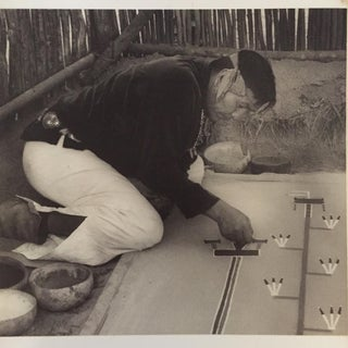 Navajo Sand Painter 1957 Photograph