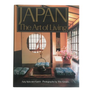 """Japan the Art of Living "" Vintage Interior Design Hardcover Book"