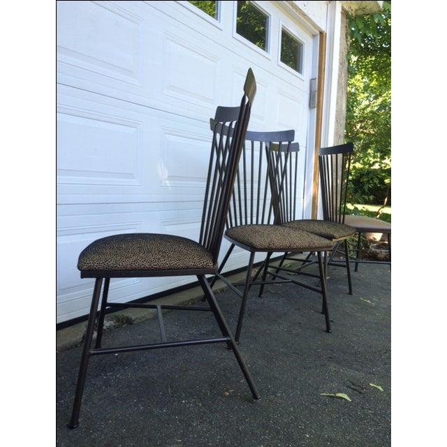 1950's Mid-Century Metal Dining Chairs - 6 - Image 8 of 11